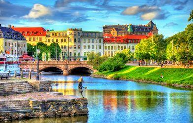 a picturesque European city