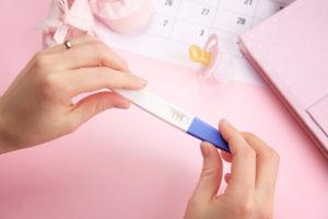 home pregnancy test